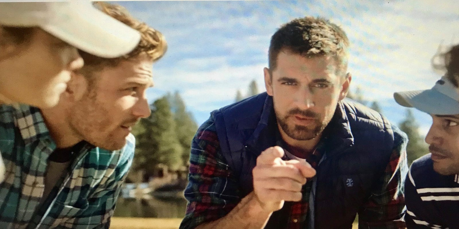 Aaron Rodgers Snl S Colin Jost Team Up In New Ad For Izod