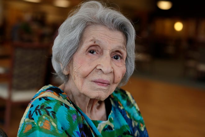 Rose Skenandore Kerstetter celebrated turning 100 years old Wednesday at the Anna John Residential Care Center on the Oneida Reservation in Hobart. Family and friends from across the  country came to help her celebrate.