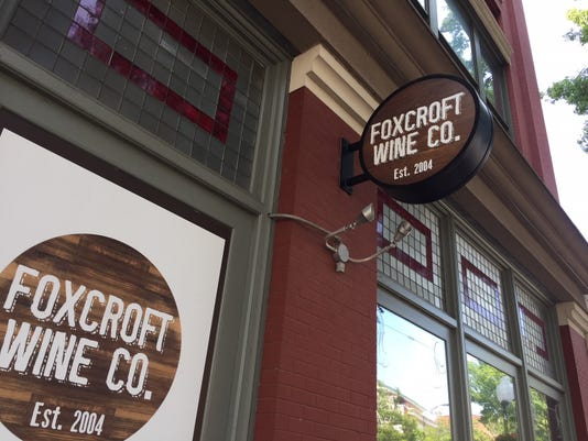 Foxcroft Wine Co Sign