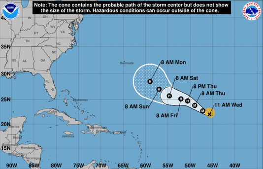 hurricane florence becomes first major atlantic hurricane in 2018