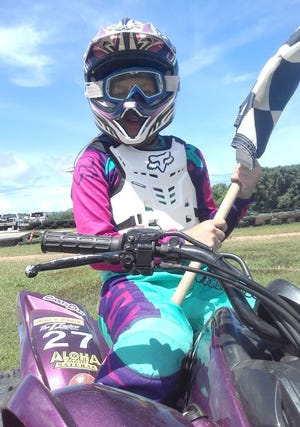 Camerish Chaco took the win Sunday and clinched the Kids Mini ATV championship in Round 9 of the 2018 Monster Energy Guam Motocross Championships.