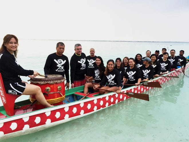 The Guam Dragon Boat Federation is ready to compete at the 8th Korea Open Busan International Dragon Boat Festival Sept. 7-9. Sixteen teams from a dozen countries will race in small boat (10 paddlers) and big boat (20 paddlers) divisions in 200-, 500- and 1000-meter distances, fielding women's and open teams.