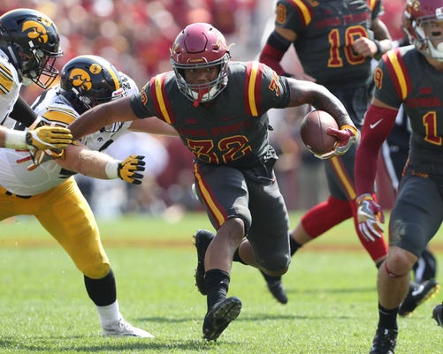 Ncaa Football Iowa At Iowa State