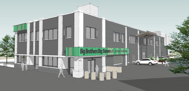 Big Brothers Big Sisters of Central Indiana will remodel a building at 1433 N. Meridian St. for its new headquarters.