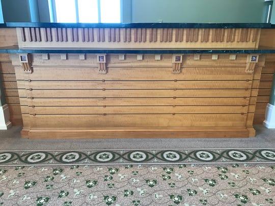 Every bar inside the Palladium represents an 88 key piano.