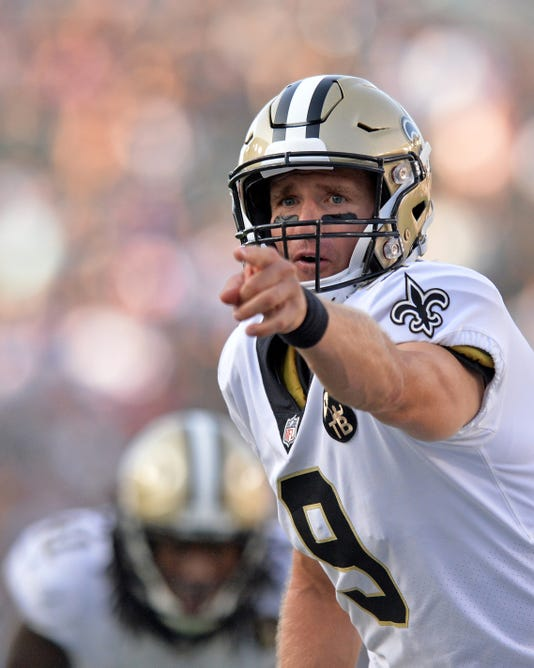 Nfl New Orleans Saints At Los Angeles Chargers