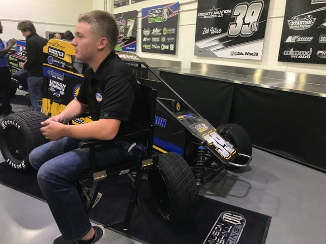 Zeb Wise is the latest, and perhaps last, driver influenced by the late Bryan Clauson.