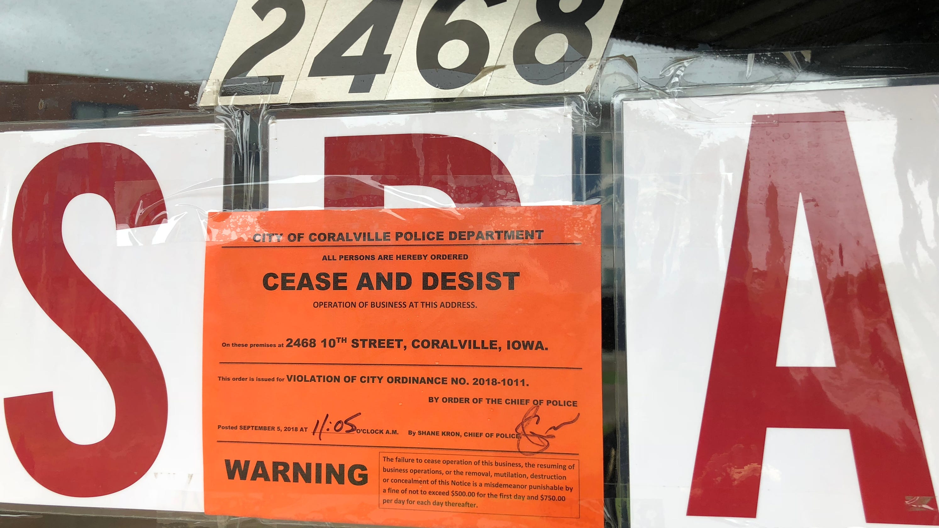 Coralville, Iowa City pass ordinances targeting human