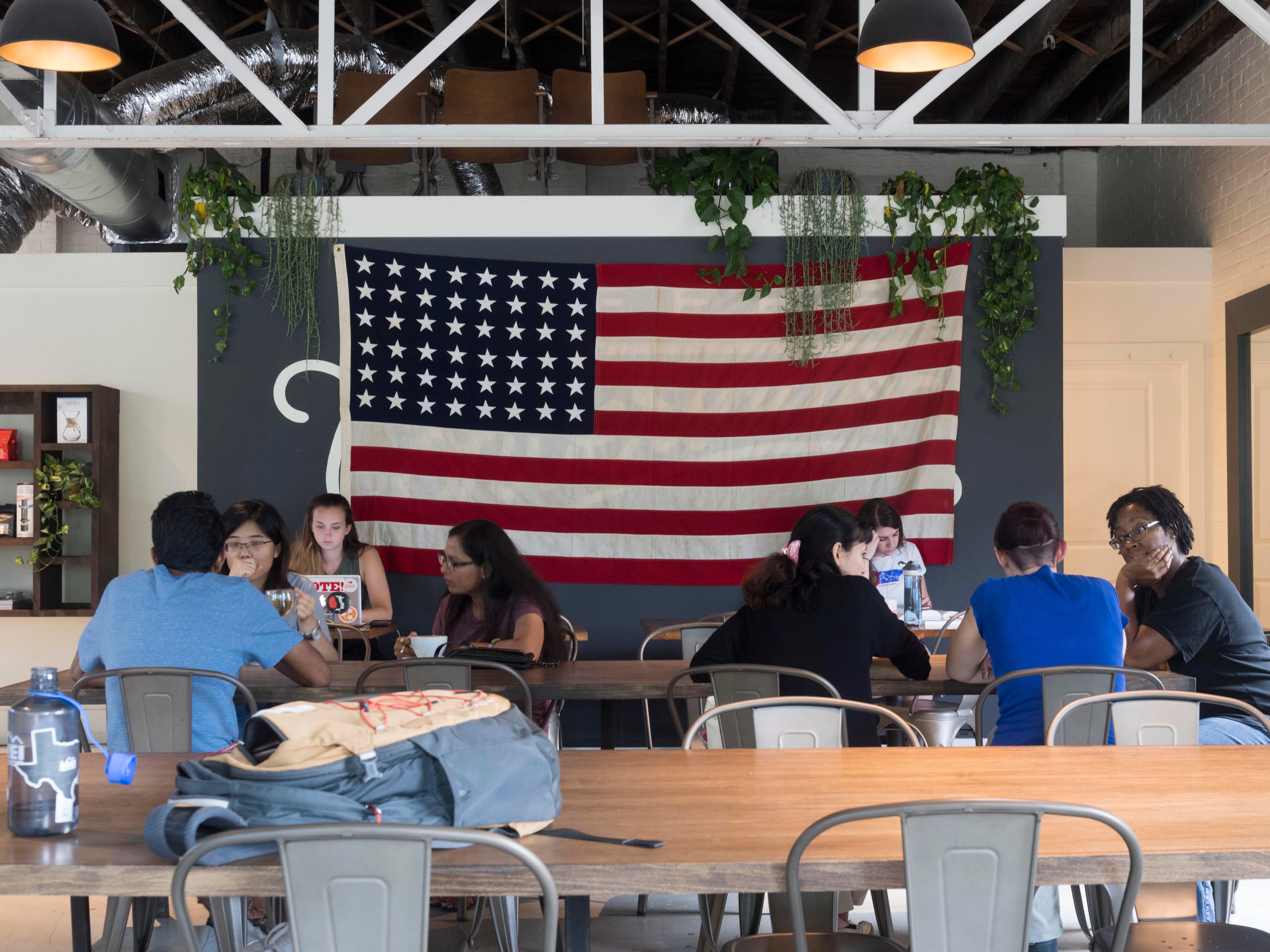 Inside Remedy Coffee on Saturday, September 1, 2018.