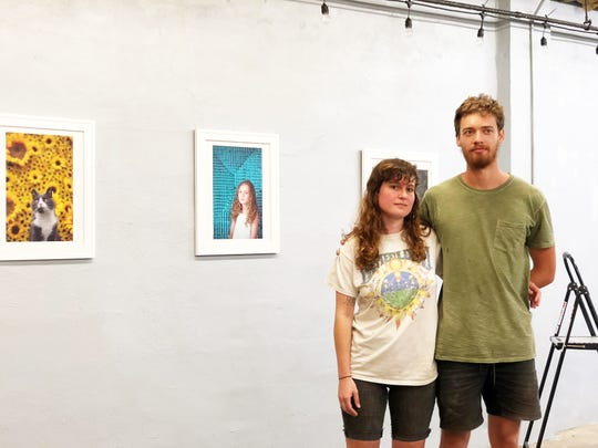 Christine and Carter Banks have been hard at work reaching out to artists and preparing for Goat Gallery's their first solo exhibition of local photographer, Nicole Carnival's work.