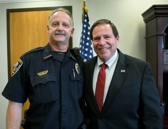 Knox County Sheriff Tom Spangler and Chief Deputy Bernie Lyonworked to come up with a plan to end 12-hour shifts for deputies on patrol.