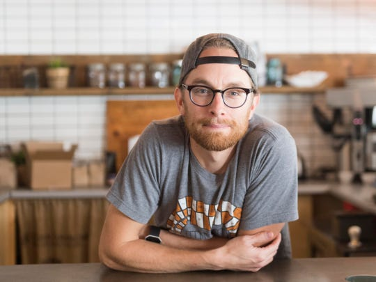 Patrick Teasdale, owner of Third Creek Coffee at 2920 Sutherland Ave on Saturday, September 1, 2018.