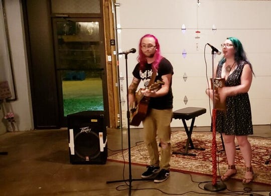 Burnt Toast performs at Goat Gallery.