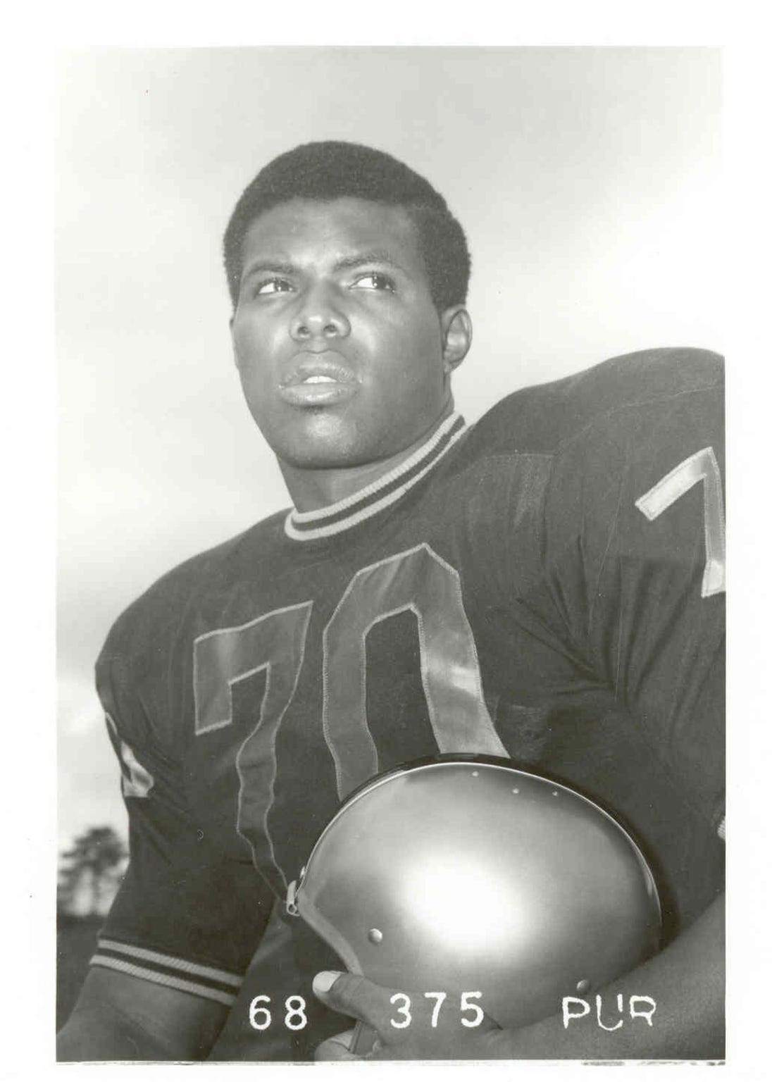 "Donnie Green went on to become one of the Buffalo Bills' ""Electric Company"" after his days as an offensive tackle at Purdue."
