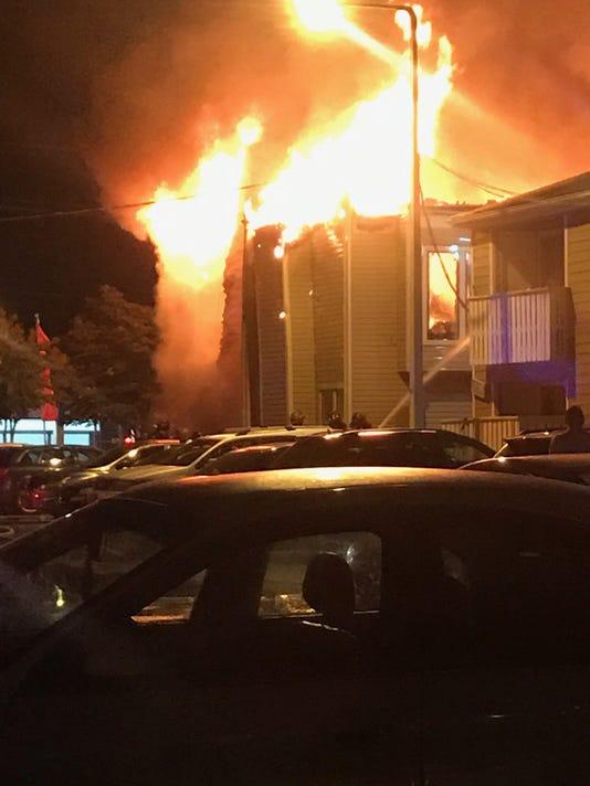 Cedar Mills Apartment Fire
