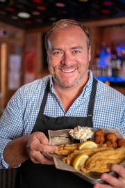 Jimmy Stovall helped bring fried catfish to the menu at Corky's Ribs & BBQ.