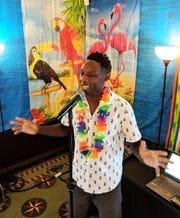 Singer Omar Baker.