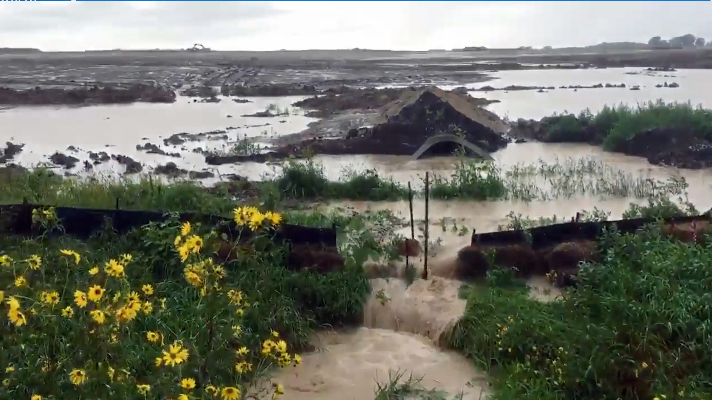 DNR fines Foxconn for failing to manage stormwater in wake of Labor Day rains