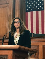Jeanette Kowalik was sworn in as Milwaukee's health commissioner Wednesday after her appointment was confirmed by the Common Council on a unanimous vote.