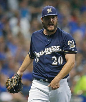 Brewers starting pitcher Wade Miley pretty much tamed the Cubs on Tuesday night with six solid innings in which he ceded only one run on three hits with zero walks and five strikeouts.