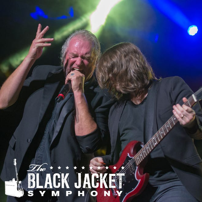 Black Jacket Symphony presents AC/DC's Back in Black on Saturday at the Montgomery Performing Arts Centre.