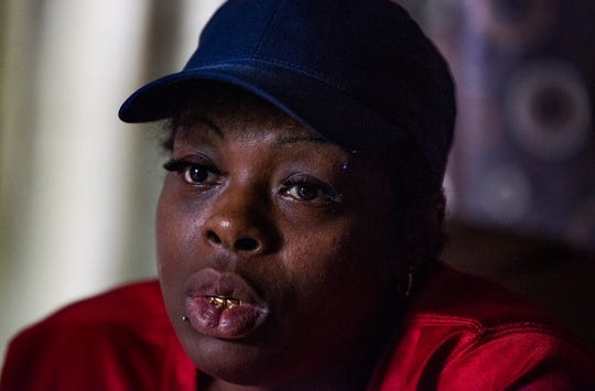 Shalonda Brown talks about her son Markeefe Hill at her home in Montgomery, Ala., on Tuesday September 5, 2018.