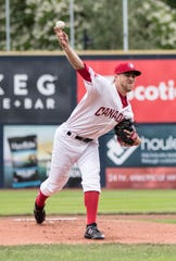 Estero graduate Josh Winckowski was named the Northwest League's Pitcher of the Year after a stellar season with the Vancouver Canadians. A 15th round pick by the Toronto Blue Jays in 2016, WInckowski went 4-5 with a 2.78 earned run average this season.