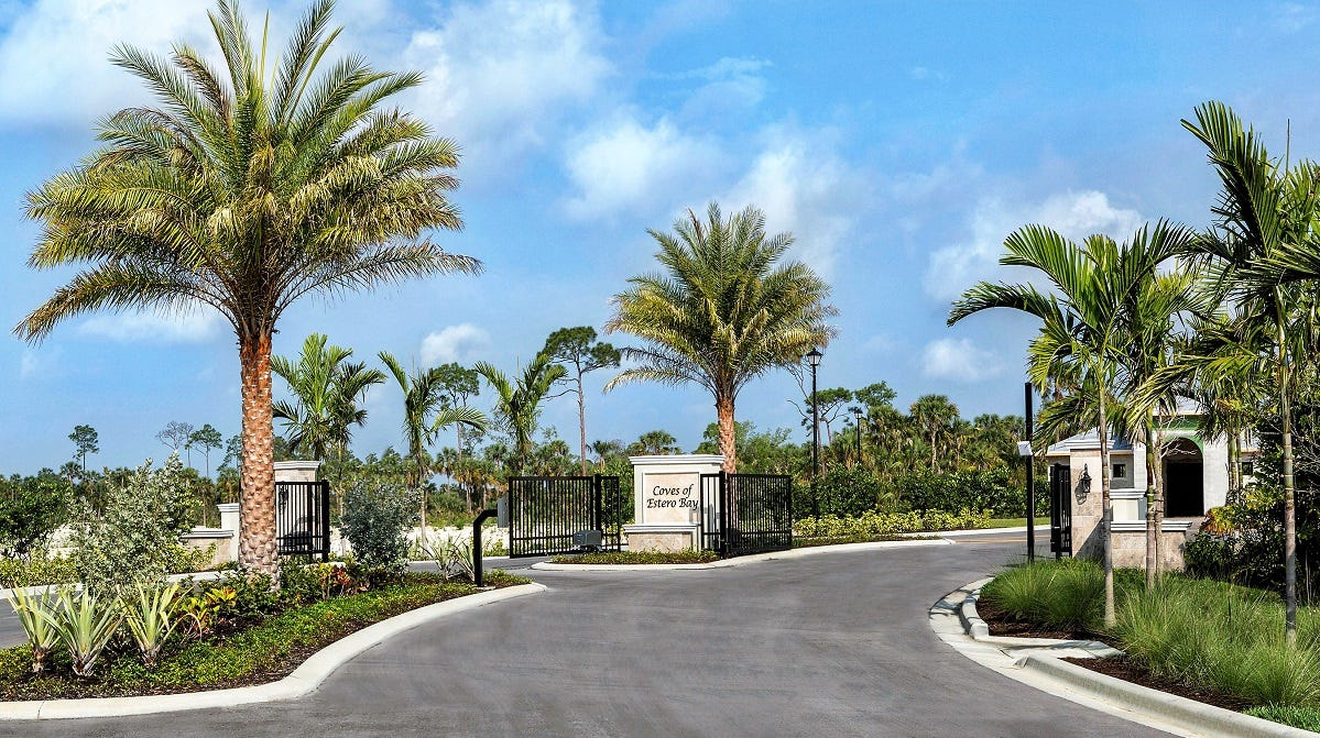 The Coves Of Estero Bay Breaks Ground For New Entrance