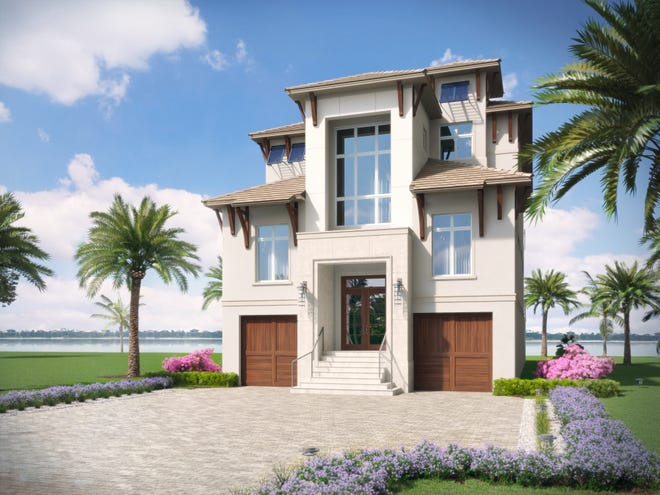 Seagate's furnished Sabbia model in Sardinia at Miromar Lakes is on schedule for completion early in 2019.