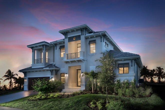Stock Custom Homes sold the Malibu at 617 Hernando Drive on Marco Island .