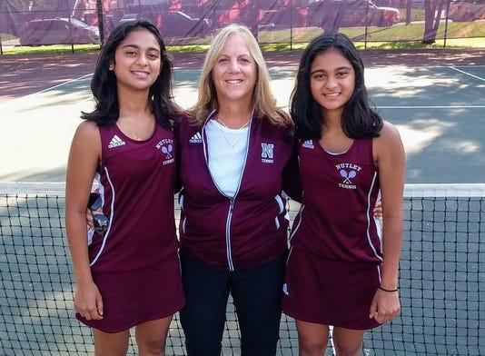 Nutley girls tennis captains