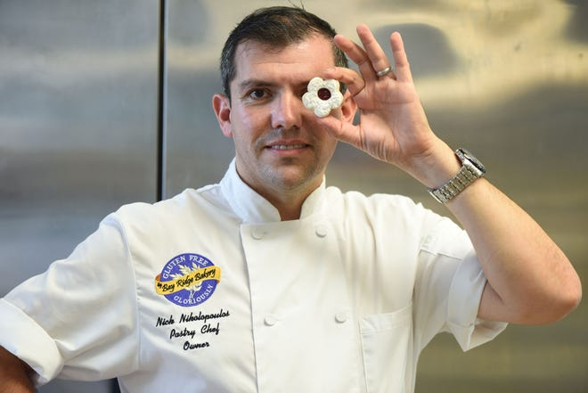 Chef Nick Nikolopoulos at Gluten Free Gloriously in Stirling, NJ