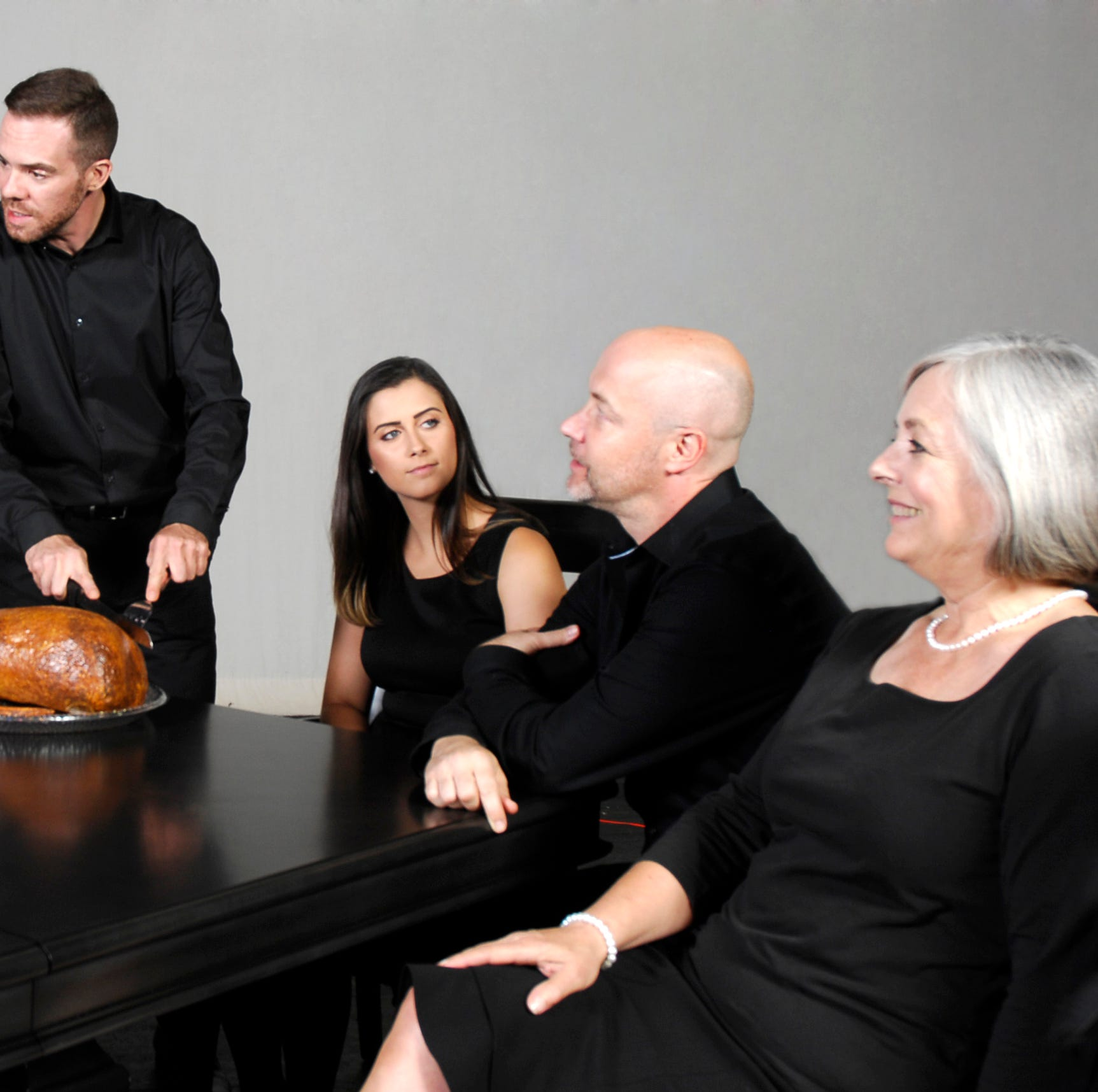 'The Dining Room', an A.R. Gurney play, is served at the Barn Theatre