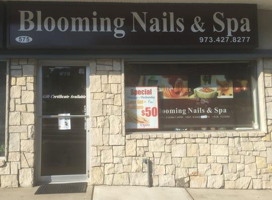 Blooming Nails & Spa, 575 High Mountain Road, North Haledon.