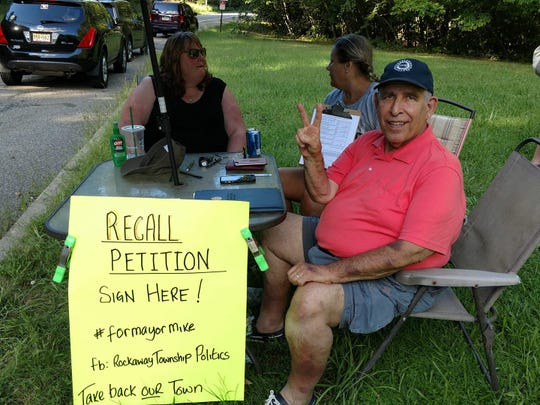 Rockaway Township recall petition drive