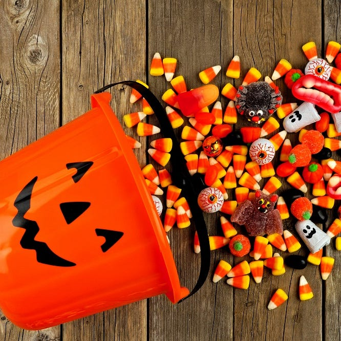 Tips on how to make Halloween healthier for children with alternatives to candy treats