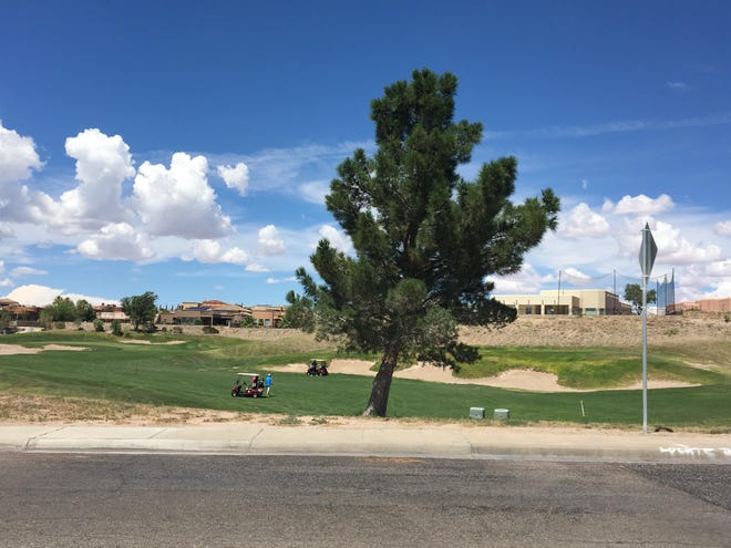 A body was found at the Sonoma Ranch Golf Course on Sonora Springs Avenue and Lone Tree Lane Wednesday morning at 9:40 a.m. in what police believe to be a suicide.