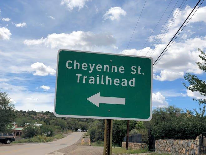 New signs have been posted alerting visitors to hiking trails in and around Silver City.