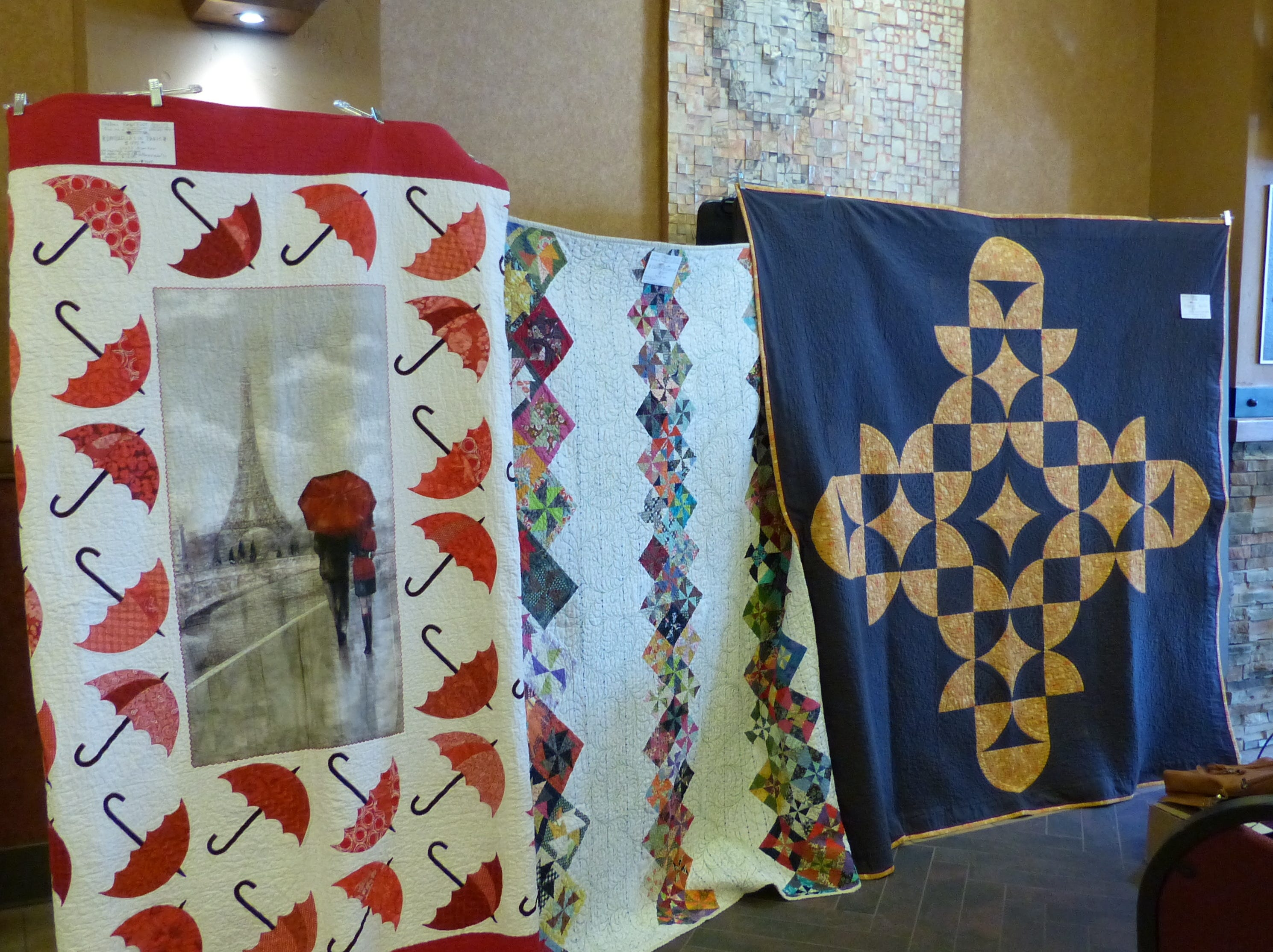 Quilts were for sale at the  All American Gun & Western Collectibles Show in Ruidoso.
