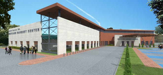 A rendering of the banquet center coming to Westland. It's expected to open in 2020.