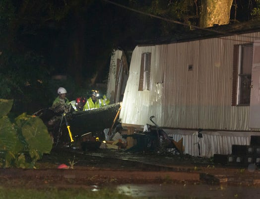 Tree Into Mobile Home
