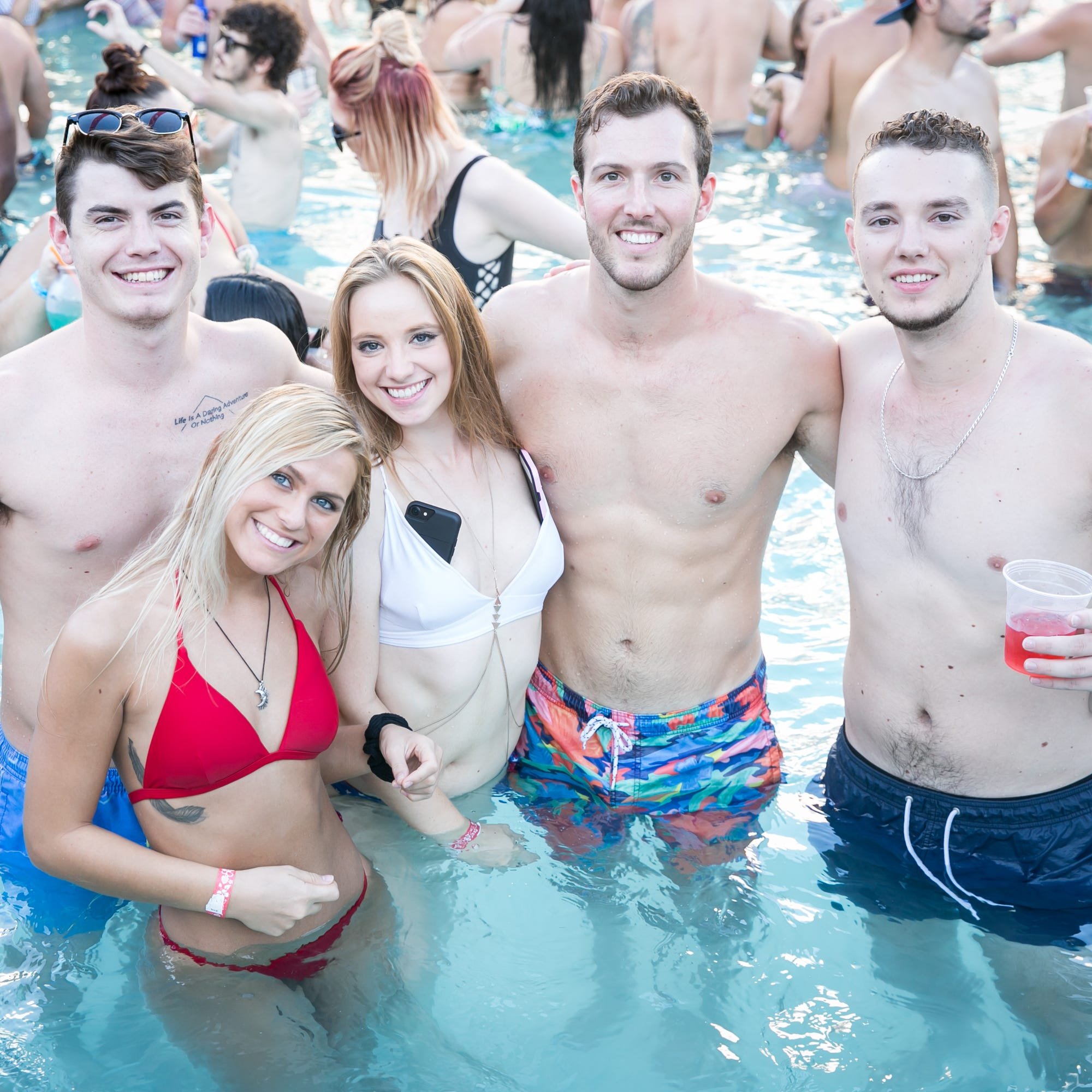 It's pool party season. Here are the best ones in Phoenix and Scottsdale