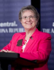 Data show Diane Douglas was in third place among Republicans running for state superintendent of public instruction.