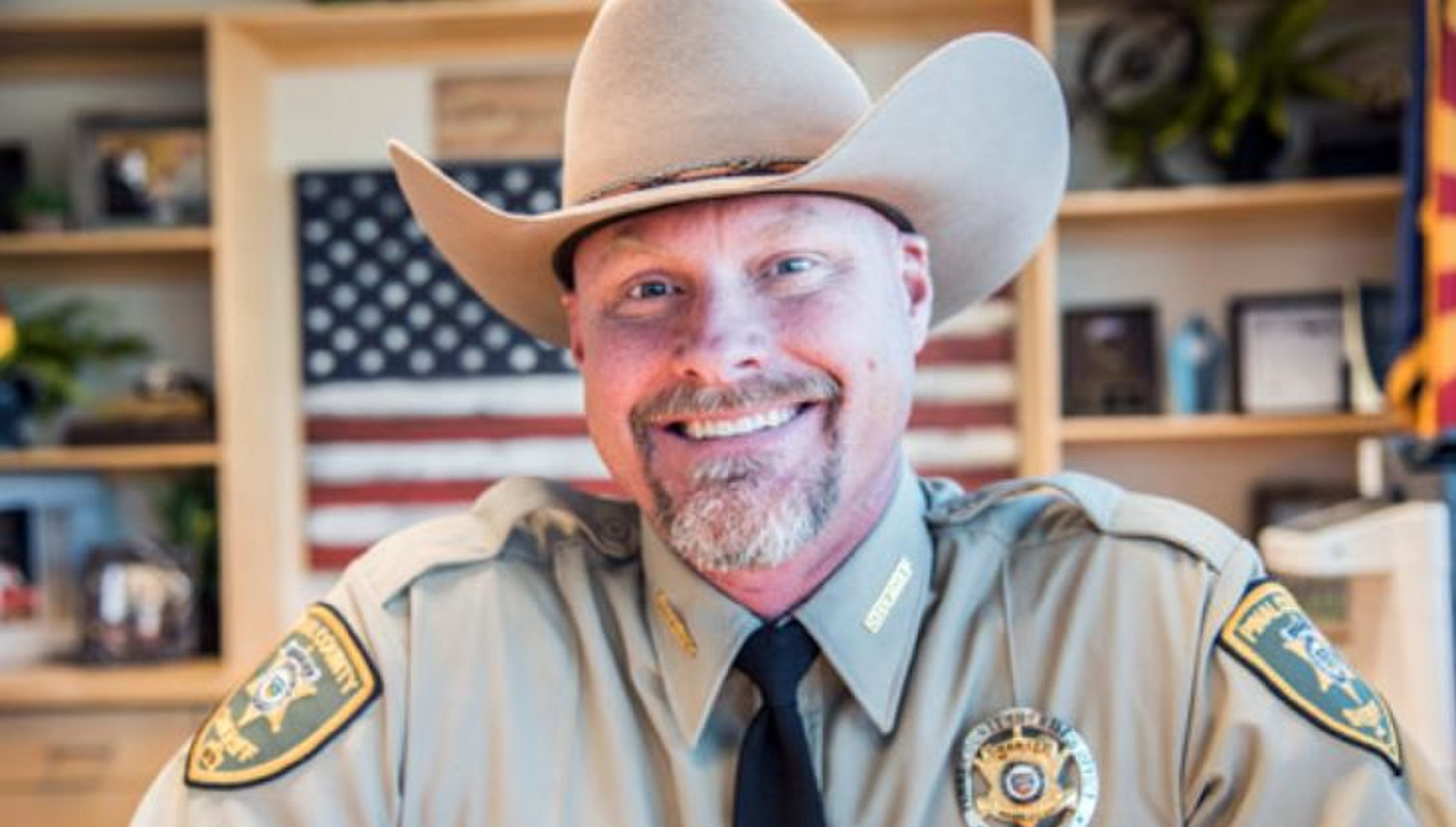 Sheriff from 'Live PD' raffling cowboy hat for Greene County