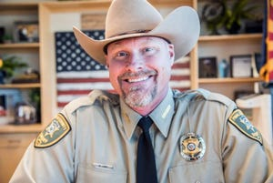 Pinal County Sheriff Mark Lamb