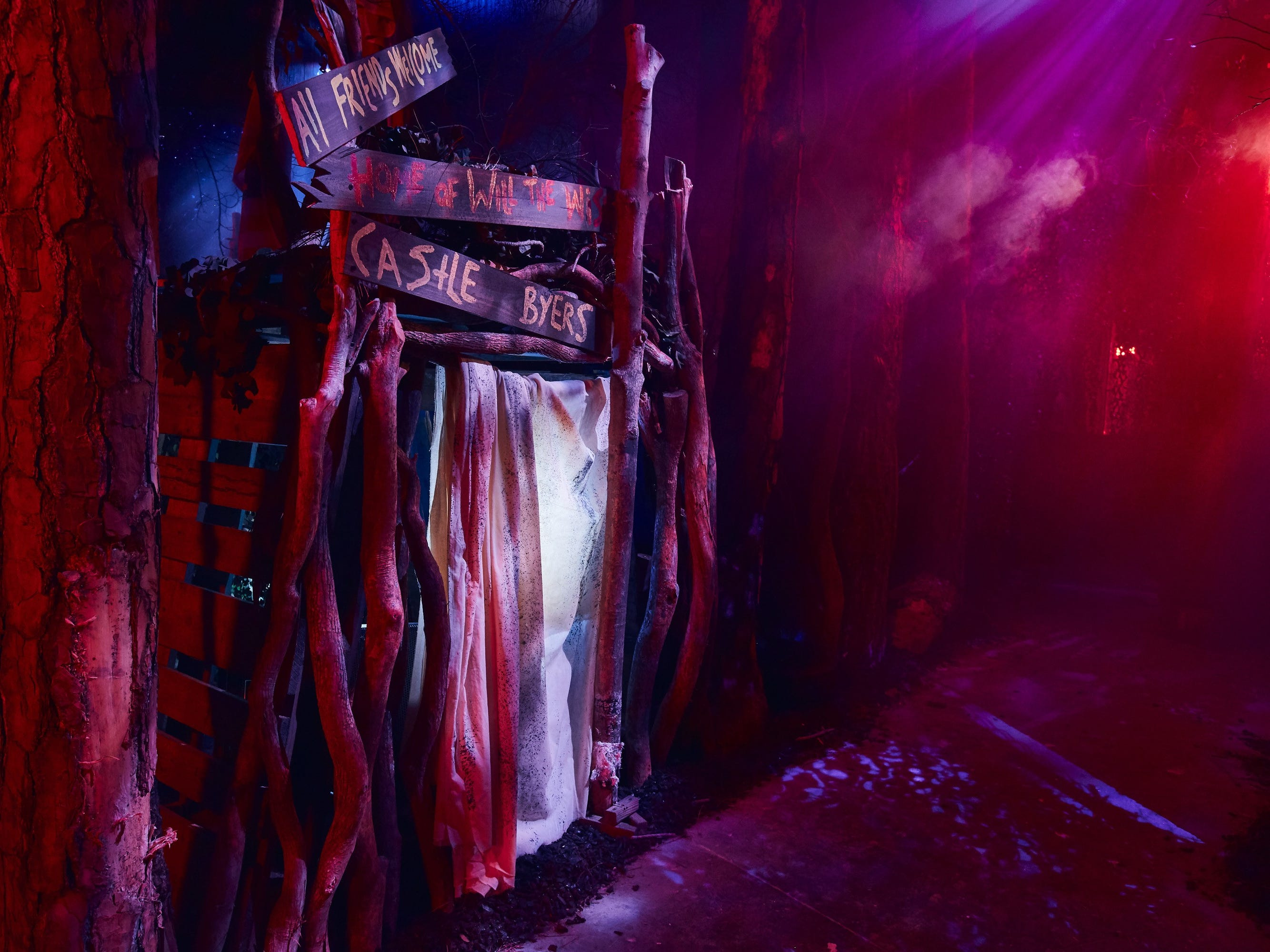 "Inside the ""Stranger Things"" maze coming to Universal Studio's Halloween Horror Nights 2018."