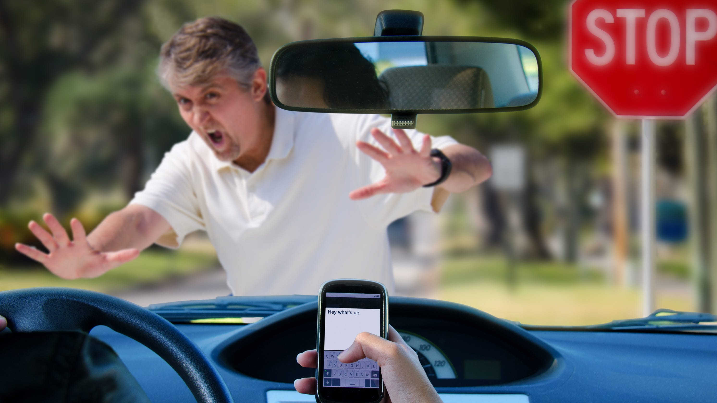 Texting While Driving >> Surprise Bans Texting While Driving And More Will Arizona