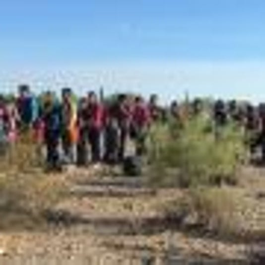 Lukeville immigrants
