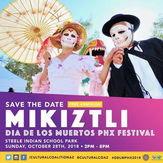Cultural Coalition prepara su séptimo Festival Anual de Día de los Muertos.