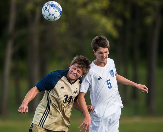 Elco's Trey Donmoyer, left, and Cedar Crest's Trent Zeller both return this season looking to help their respective teams contend for playoff spots.